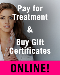 Book laser treatment online or purchase gift certificates for laser treatment